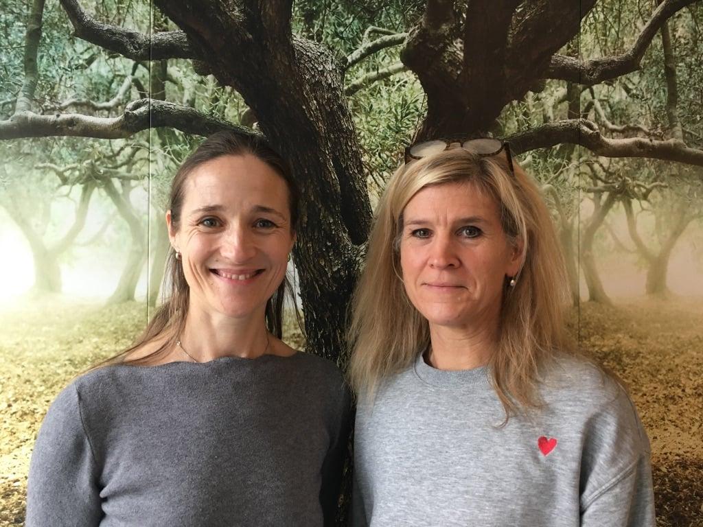 Manuela Motko und Melanie Weinert
